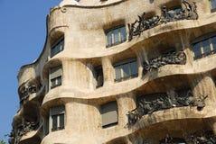 Casa Batllo en Barcelona Fotografía de archivo libre de regalías