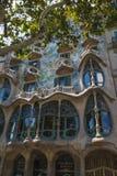Casa Batllo facade in Barcelona Royalty Free Stock Photos
