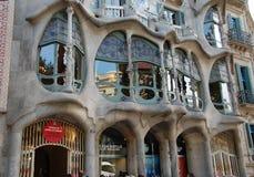 Casa Batllo facade in Barcelona Stock Photos