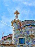 Casa Batllo fasada zdjęcia royalty free