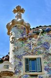 Casa Batllo-Fassade stockbilder