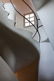 Casa Batllo interior.Stairs to the roof. Antonio G Royalty Free Stock Photos