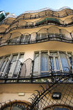 Casa Batllo interior yard, building facade Stock Photography