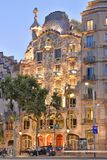Casa Batllo modernist architecture Barcelona Spain royalty free stock image