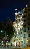 Casa Batllo  in night Royalty Free Stock Photos