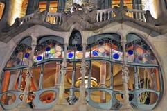 Casa Batllo at night, Barcelona Stock Photo