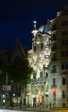 Casa Batllo  in night. Barcelona Stock Image