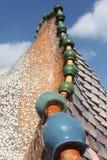 Casa batllo roof Stock Image