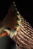 Casa Batllo. Roof of Casa Batllo on Passeig de Gracia, Barcelona, Spain royalty free stock photos