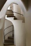 Casa Batllo - Spiraalvormige Treden royalty-vrije stock foto
