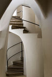 Casa Batllo - Spiral Stairs Royalty Free Stock Photo