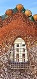 Casa batllo window royalty free stock image