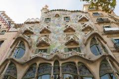 Casa Batlo, Barcelona Stock Images