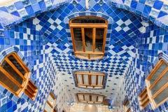 Casa Batlo Barcelona Spanje Royalty-vrije Stock Foto