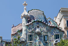 Free Casa Batlo Facade Barcelona Spain Royalty Free Stock Photos - 24697258