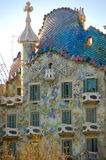 Casa Battlo. Building by Antonio Gaudi Royalty Free Stock Image