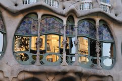 Casa Battlo Royalty Free Stock Photos