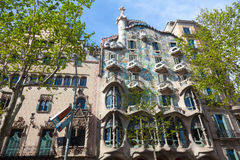 Casa Battlo Stock Image