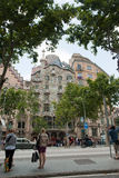 Casa Battlo by Antoni Gaudi Barcelona Stock Photography