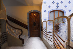 Casa Battlo Apartments of Antoni Gaudi Stock Image