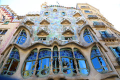 Casa Battlo - Barcellona Fotografia Stock Libera da Diritti
