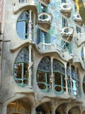 Casa Battlo in Barcelona. Spain Stock Photos