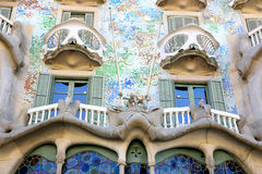 Casa Battlo - Barcelona Royalty Free Stock Photo