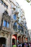 Casa Battlo - Barcelona. Casa Battlo or Casa Baio - Barcelona royalty free stock photos