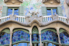 Casa Battlo - Barcelona Royalty Free Stock Image