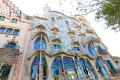 Casa Battlo - Barcelona Royalty Free Stock Photography