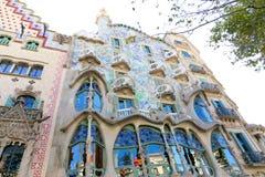 Casa Battlo - Barcelona Royalty Free Stock Photography