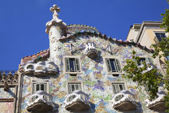 Casa Battlo, Barcelona, Spain Royalty Free Stock Images