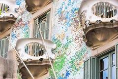 Casa Battlo della Camera a Barcellona, Spagna Fotografia Stock