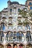 Casa Battlo en Barcelona, España Fotos de archivo libres de regalías