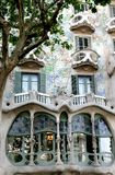 Casa Battlo, example of modernism, Barcelona Royalty Free Stock Photo