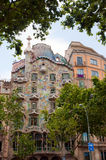Casa Battlo by Gaudi Barcelona Stock Photography