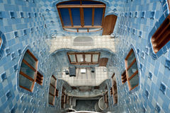 Casa Battlo by Gaudi in Barcelona Royalty Free Stock Image
