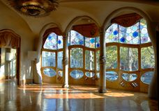 Casa Battlo, Interior royalty free stock images