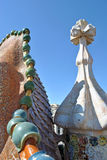 Casa Battlo roof Stock Photo