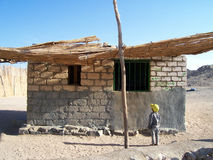Casa beduína Imagens de Stock
