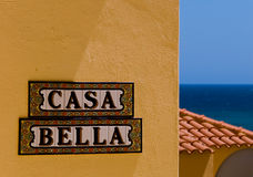 Casa bella Royalty Free Stock Photo