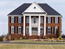 Casa bella nella Virginia Immagine Stock Libera da Diritti