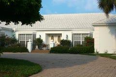 Casa - belleza blanca Fotografía de archivo libre de regalías