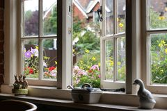 Casa bem equipada Fotografia de Stock Royalty Free