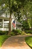 Casa benvenuta fotografia stock