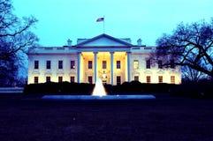 Casa bianca Fotografie Stock
