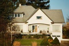 Casa bianca Immagine Stock