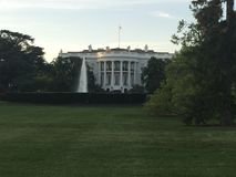 Casa blanca Imagen de archivo