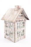 Casa blanca de la linterna Fotografía de archivo libre de regalías