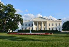 Casa blanca en Washington DC Imágenes de archivo libres de regalías